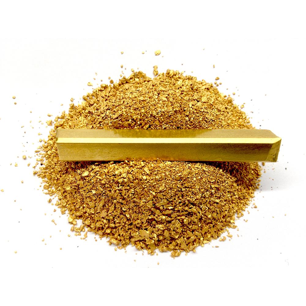Pures Ökofair-Gold